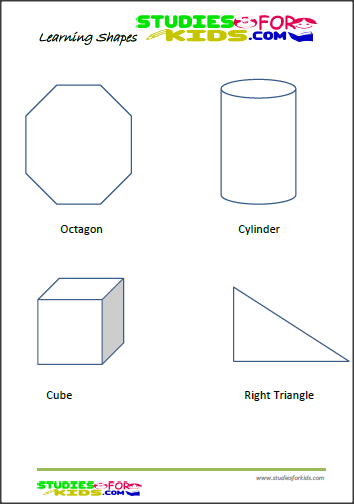 Non- color shapes activities for preschoolers printable worksheet ...