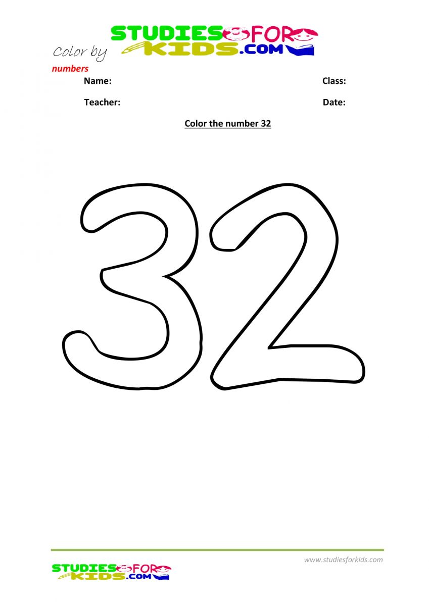color by number worksheet-32