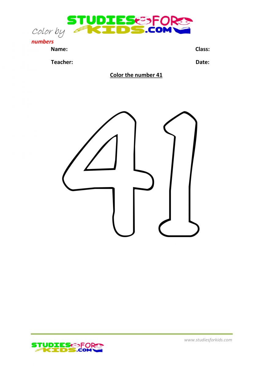childrens color by number printables -41
