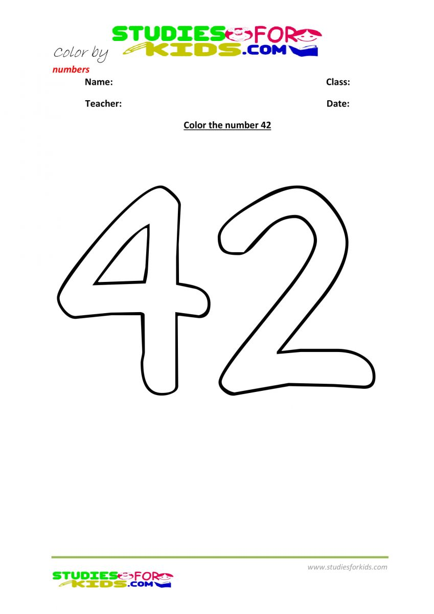 color by number printables -42