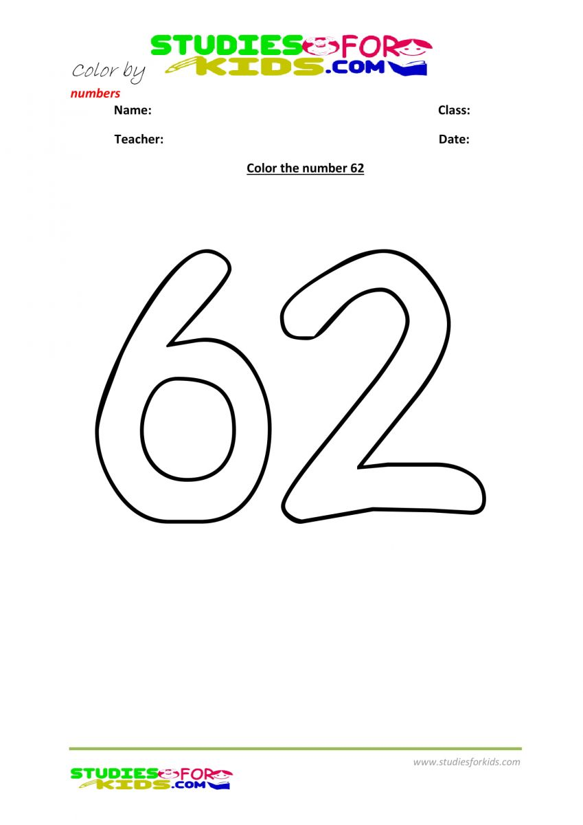 color by number worksheet -62