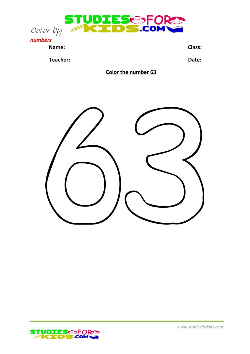 color by number worksheet -63